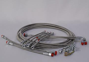 PTFE flexible hoses