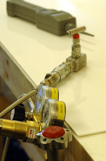 Helium Testing