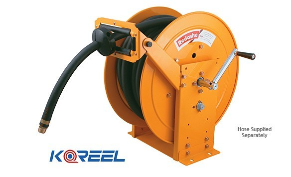 Manual rewind hose reel from koreel reels